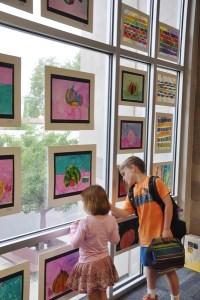 Budding Young Artists Showcase Impressive Range of Work at Lower School Art Exhibit