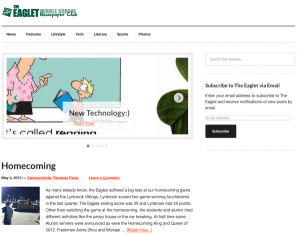Middle School News Site Officially Launched!
