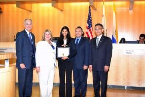 Upper School Student Receives San Jose City Council Commendation for Math Tutoring Program