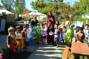 Harker Preschool and Lower School Students Enjoyed a Spooktacular Halloween!