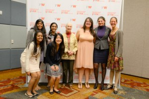 Upper School Students Attend YWCA Luncheon Featuring Riveting Talk by Jane Goodall