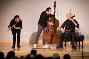 PROJECT Trio's Take on Chamber Music Warms the Harker Concert Series Crowd