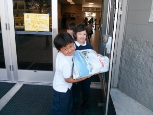 Grade 1 Students Raise Money, Create and Collect Items for Shelter Animals