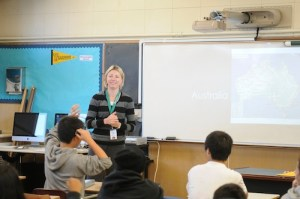 Australian Exchange Teacher Explores Harker's Use of Technology