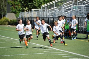 Soccer Campers Learn the Finer Points of the Game