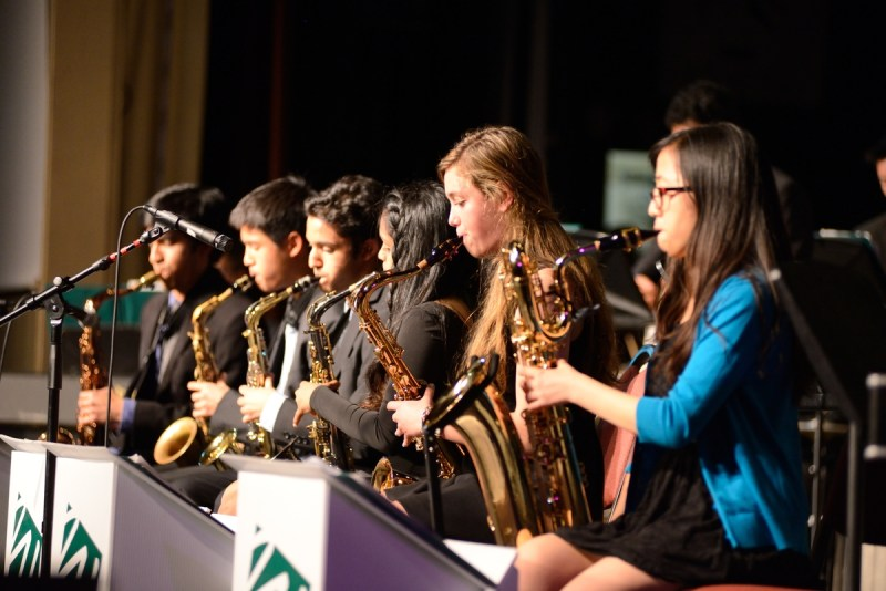 Students, Audiences Bop at Evening of Jazz