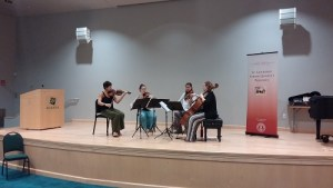 Excelsa Quartet Offers Free Workshop to Harker Students