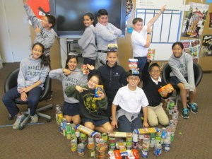 Middle School Holds Annual Canned Food Drive to Help Feed the Hungry