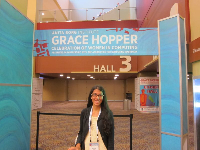 Computing Student Invited to Prestigious Grace Hopper Conference