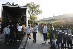 Grade 5 Food Drive Aids Those in Need