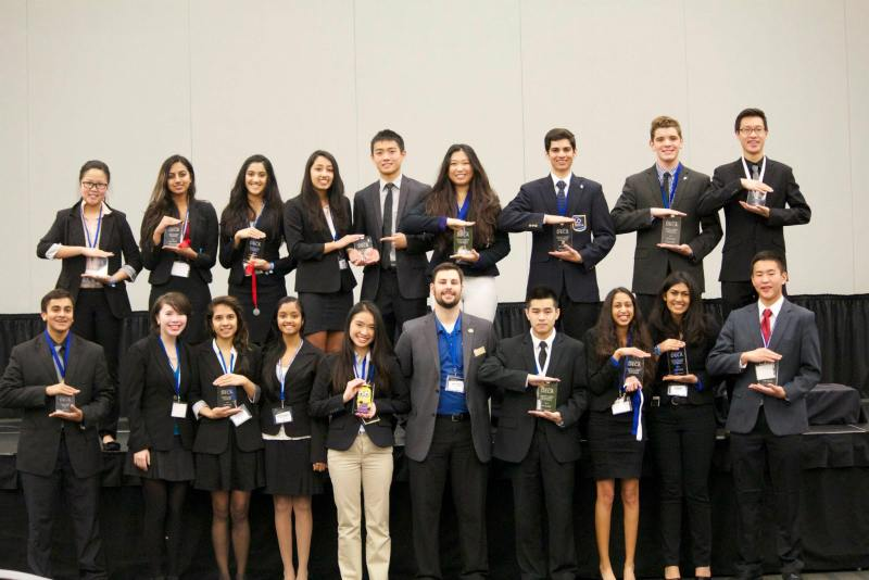 DECA Students Take First in U.S. and Garner Great Results at Conference