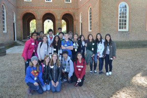 Grade 8 Students Enjoy Firsthand Look at Nation's Capital on Class Trip