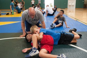 Summer Wrestling Camp Welcomes Back Anthony Robles, Coach Jay Lawson