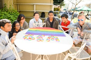 GSA Club Shows Support for LGBT Community