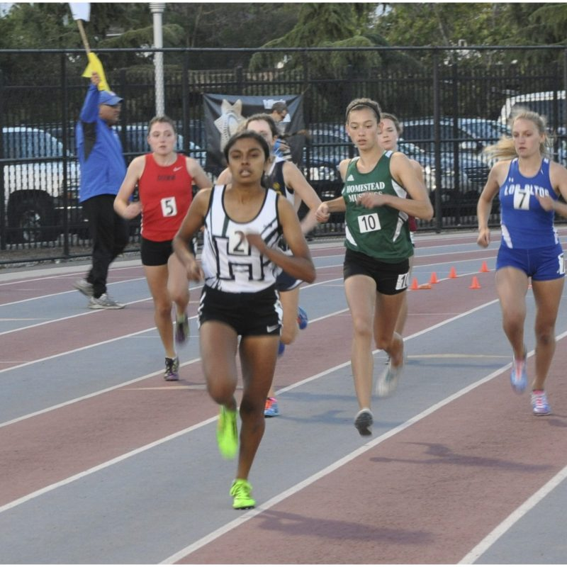 Iyer Pushes into Third at CIF to Qualify for State!