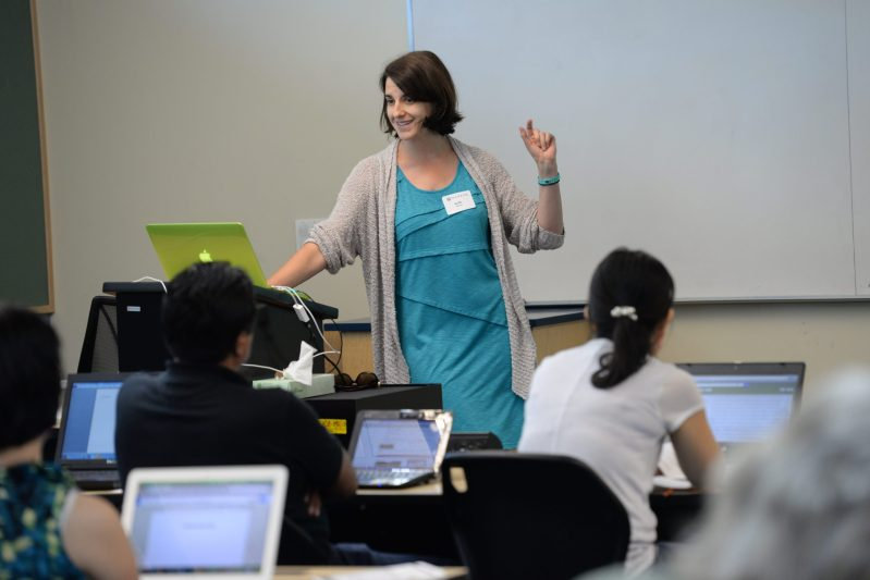Teacher Institute Attracts Educators Eager to Learn New Skills