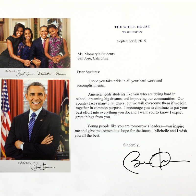 White House Recognizes Middle School Debate Team Accomplishments