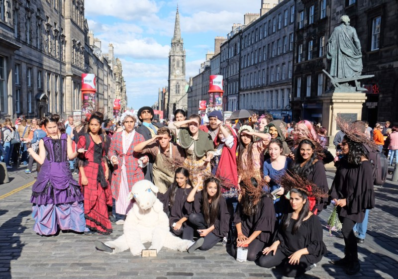Into the Fringe: Conservatory Takes 'Into the Woods' to Edinburgh