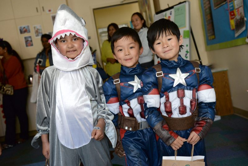 Preschool Students Enjoy Afternoon of Fun Halloween Happenings!