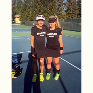 Golfer Katherine Zhu Qualifies for NorCal Tourney, Tennis Duo Heads to CCS!
