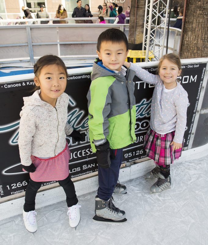 Lower School Greets Holiday Season with Ice Skating Social at Downtown Ice