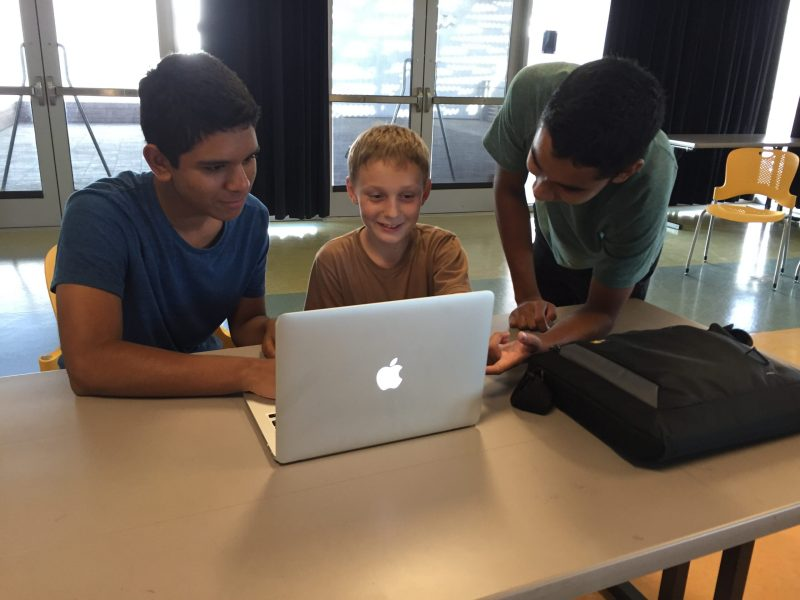 Students Teach Science and Programming to Local Youths