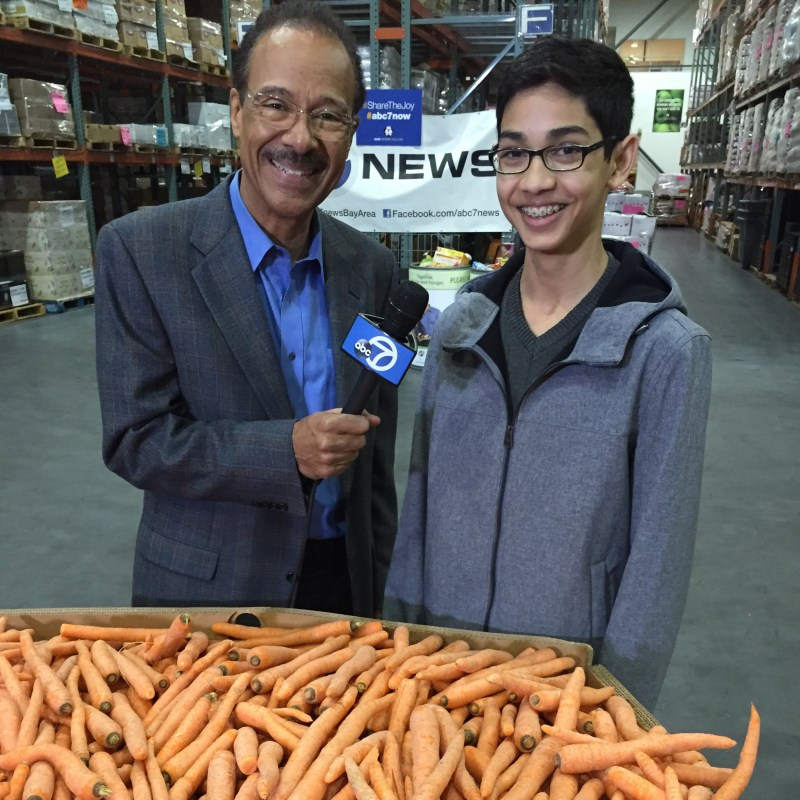 Upper School Student Dedicates Spare Time to Volunteering at Food Bank