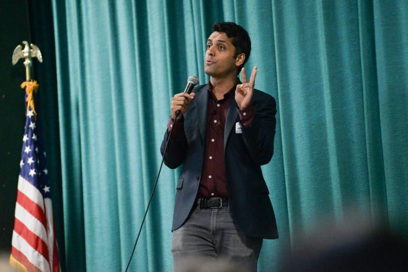 Muslim-American Alumnus Receives Standing Ovation Following Talk at Upper School