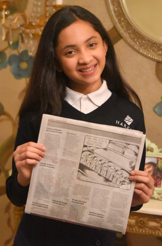 Middle School Student Uses Writing Skills to Advance Social Justice Issues