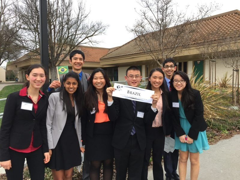 Model United Nations Earns Recognition at Santa Teresa Conference