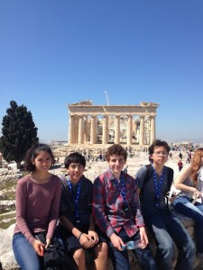 Students Take Historic Trek Through Italy and Greece