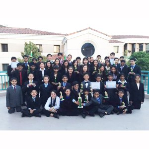 MS Speech and Debate Team Takes Top Honors at Glendale Event