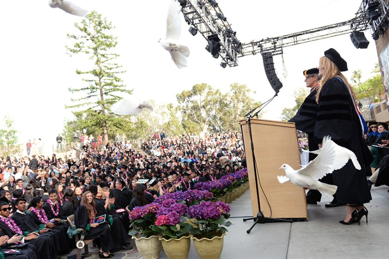 """Class of 2016 Graduates at Momentous Ceremony. Chan: """"You Are Too Good to Be Forgotten"""""""