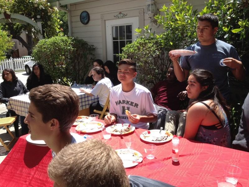 Students Enjoy Authentic Cuban Cuisine at Harker Parent's Home