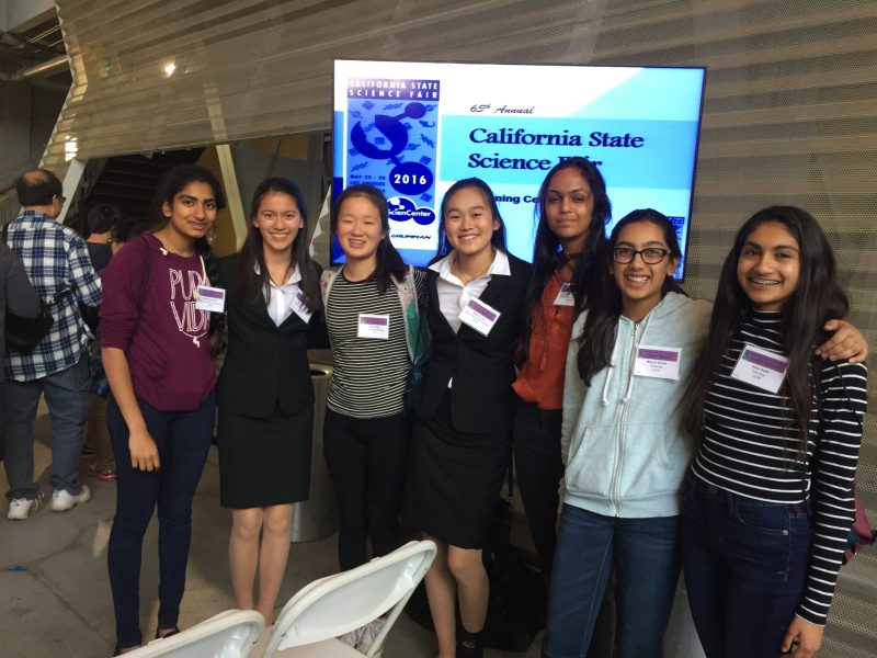 MS Student Projects Receive Honors at State Science Fair