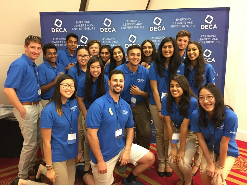 Harker DECA Officers Grow and Bond at 2016 Emerging Leader Summit