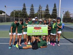 Girls Tennis Tournament Championship Highlights the Harker Week in Sports