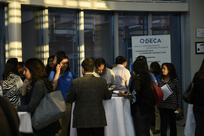 DECA Holds Parent Night to Inform and Praise