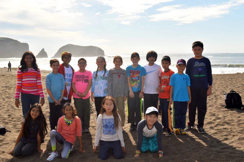 Grade 5 students explore Marin Headlands
