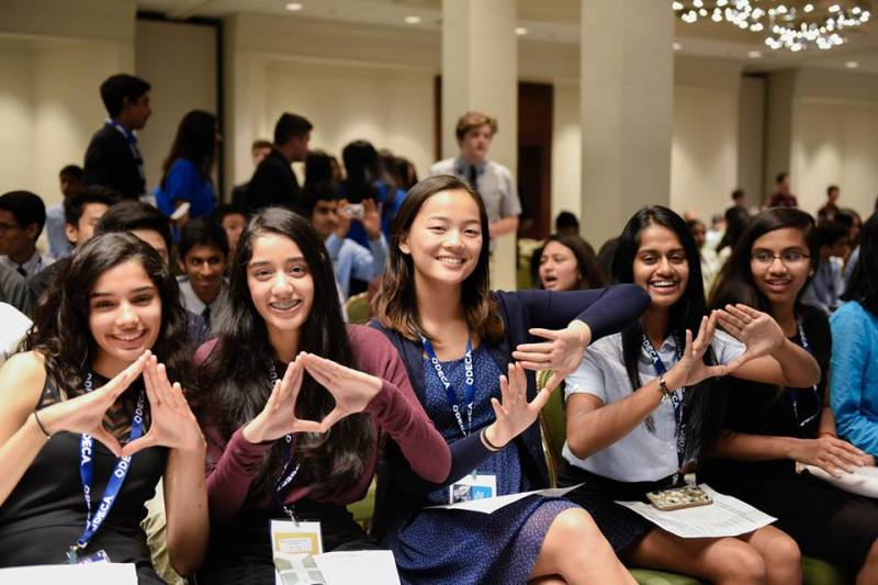 Harker DECA students enjoy first conference with Silicon Valley LACE