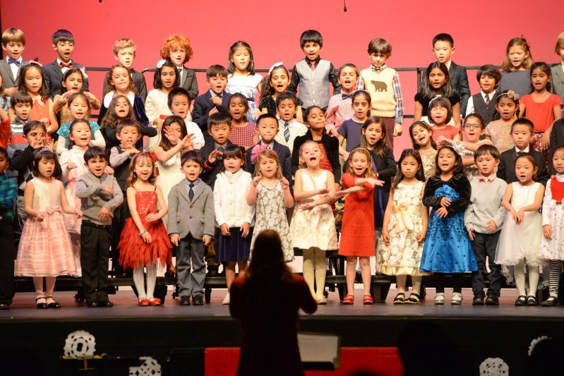 Grade 1 Holiday Show entertains afternoon audience