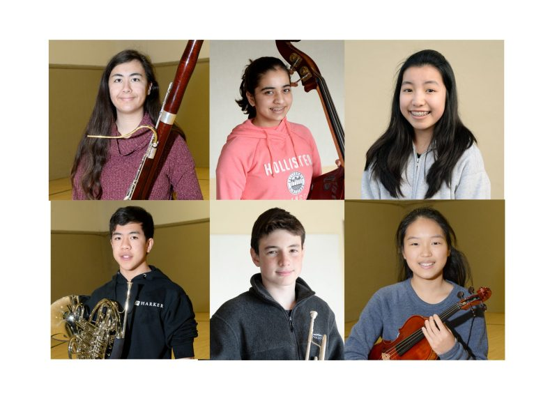 Six Harker students named to all-state ensembles