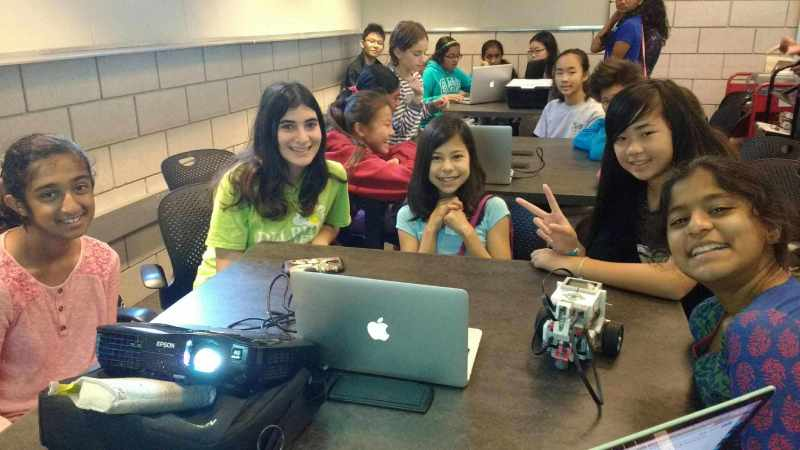 Student-run WonderBots! program aims to bring more girls into tech