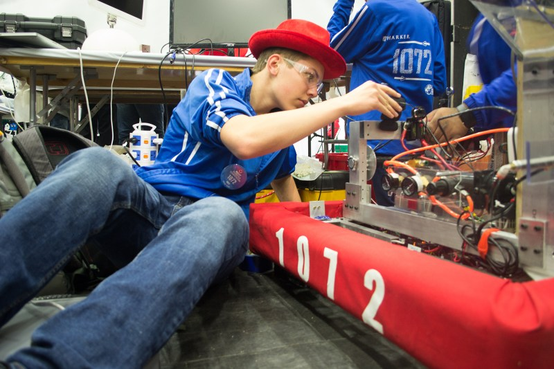 Rise of the machine: 2017 robotics team results reflect years of growth