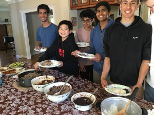 Spanish students enjoy delicious Cuban food on annual outing