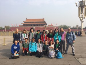 Middle school students venture to China for annual exchange