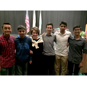 Business students attend city meeting, meet mayor and congresswoman
