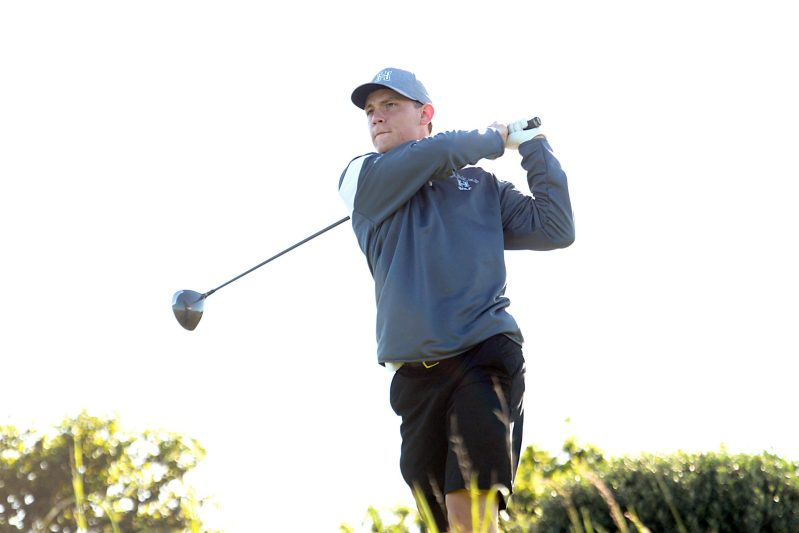 2017 grad Colt McNealy competes at Ellie Mae Classic among golf pros and sports stars