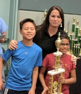 MS and LS chess players take second place as a team at Labor Day weekend tournament