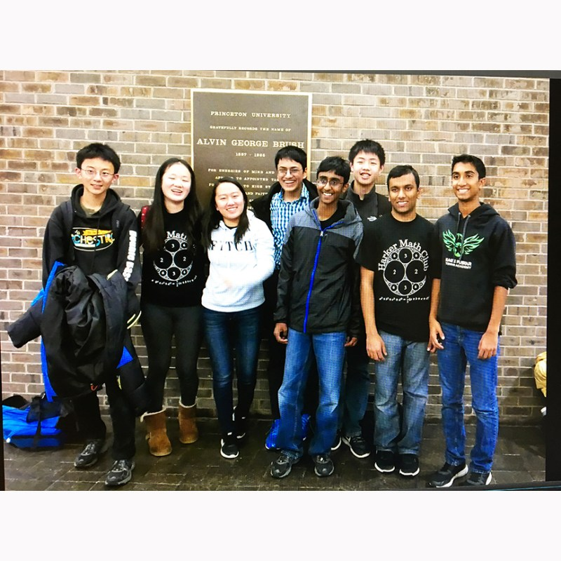 US math team finishes fifth out of 60 teams in Princeton math competition